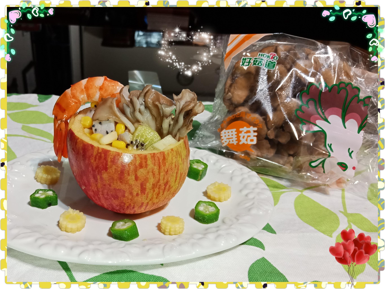鮮蝦舞沙拉【好菇道親子食光】