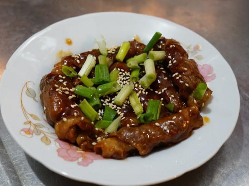 蜜汁蔥燒烤肉捲-李錦記蜜汁燒烤肉醬