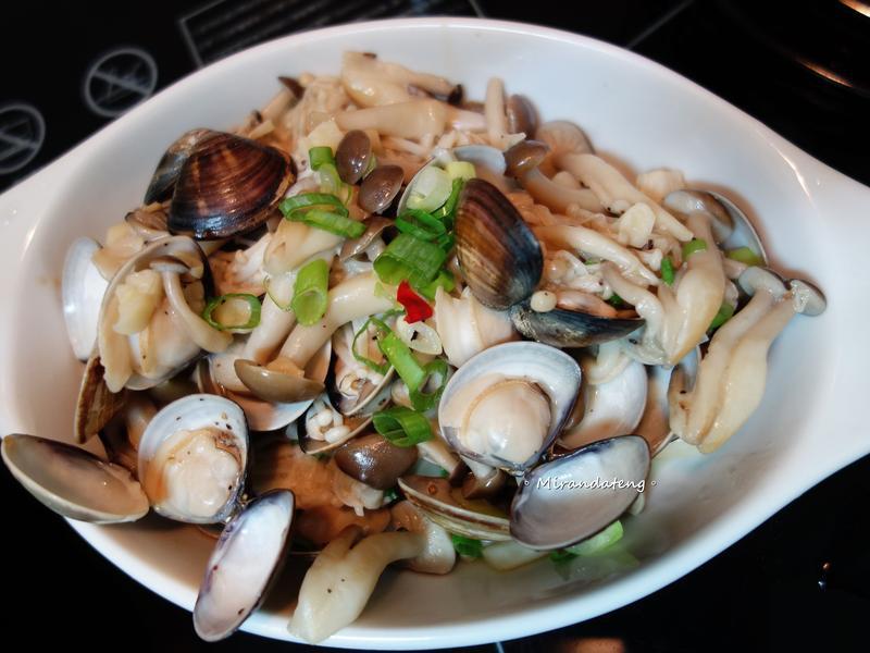 蒜香奶油蛤蜊菇【好菇道親子食光】