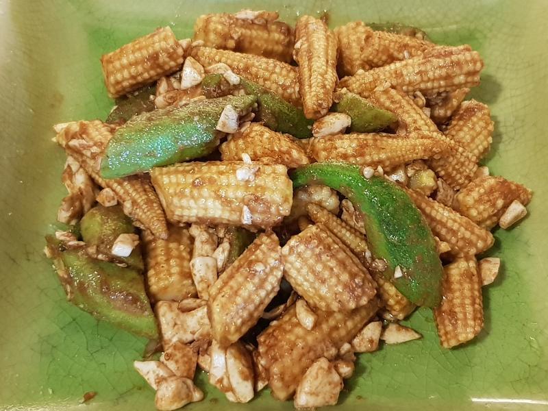 金沙玉米筍