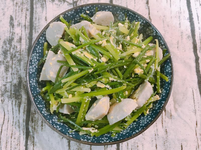 魚丸韭菜花