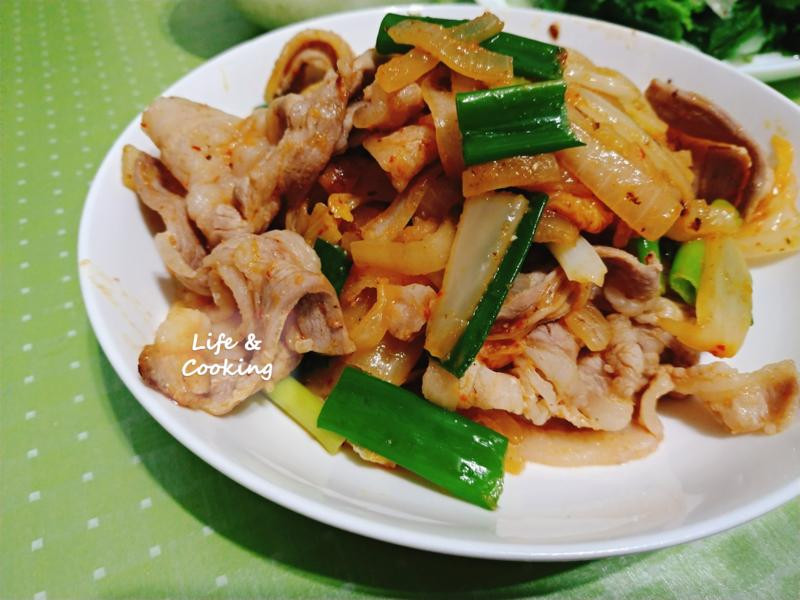 【家常菜】泡菜豬肉