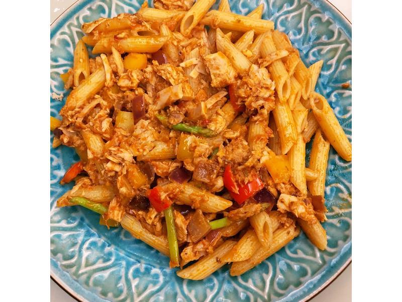 鮪魚蘆筍意大利麵