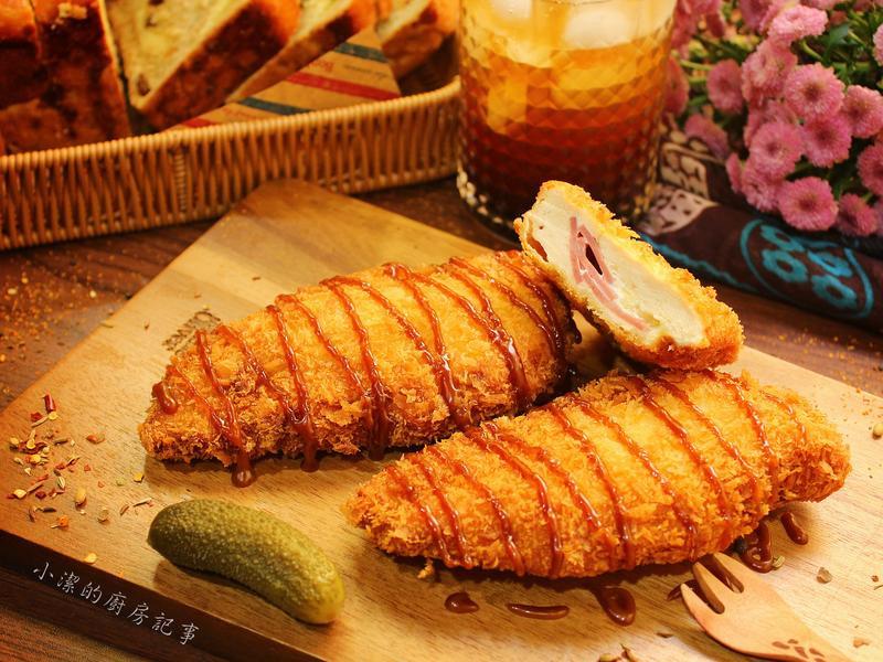 照燒鑲餡雞肉