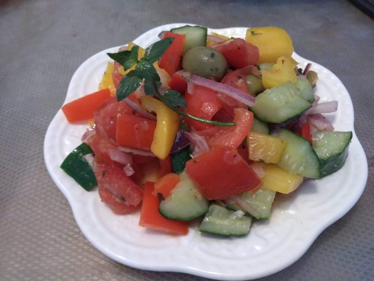 希臘蕃茄沙拉