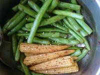 麻辣四季豆玉米筍