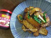 蔥香蜜汁煸黑豆腐