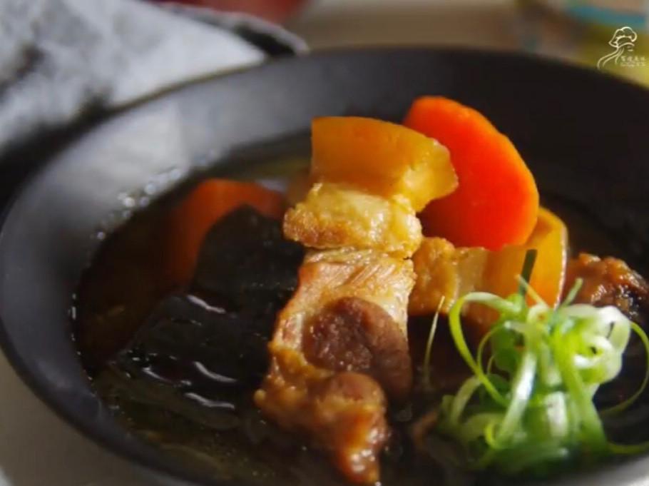 不敗料理-黑糖昆布燉豬五花