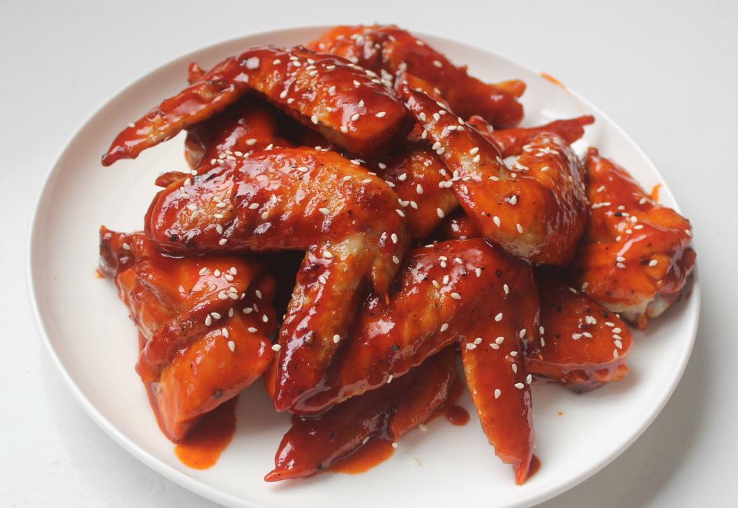 舒肥韓式辣雞翅