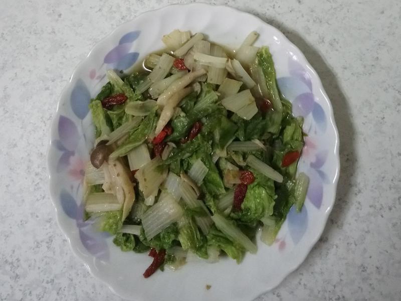 沙茶小白菜