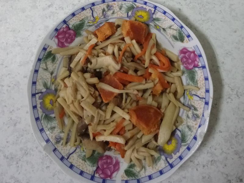 彩味杏鮑菇