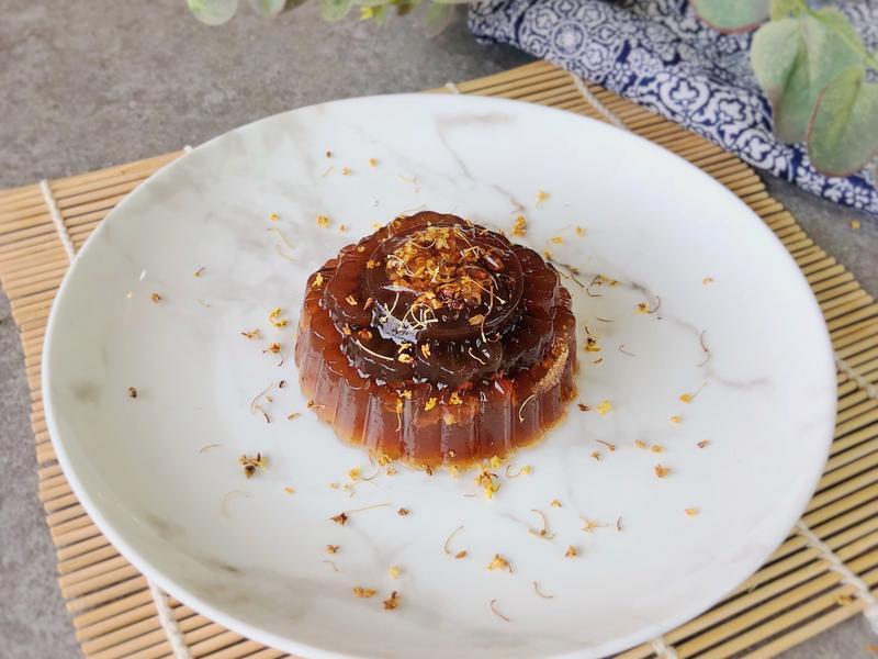 烏龍茶桂花椰糖果凍月餅
