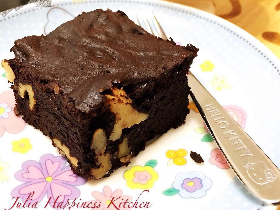 脆皮軟心布朗尼蛋糕(作法超簡單)