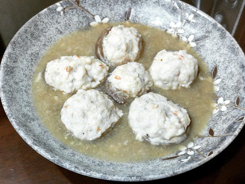 減肥低脂-鯛魚蝦子香菇鑲肉