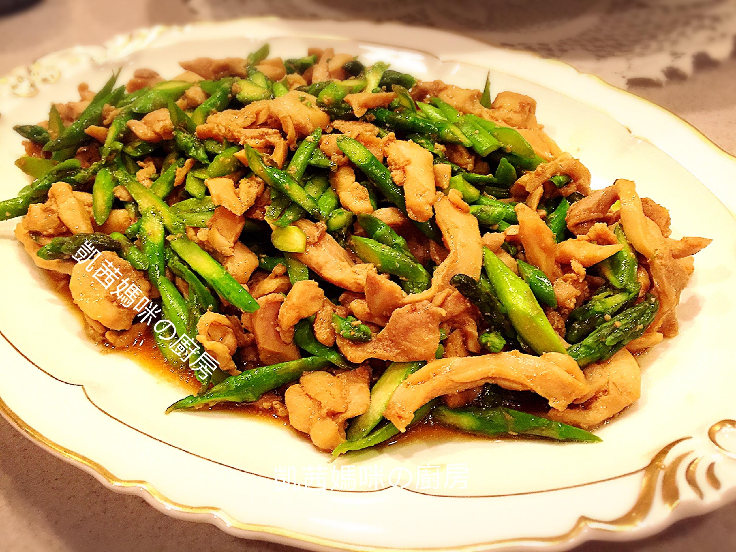 韓式蘆筍雞🎶