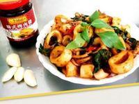韓式烤肉醬炒中卷