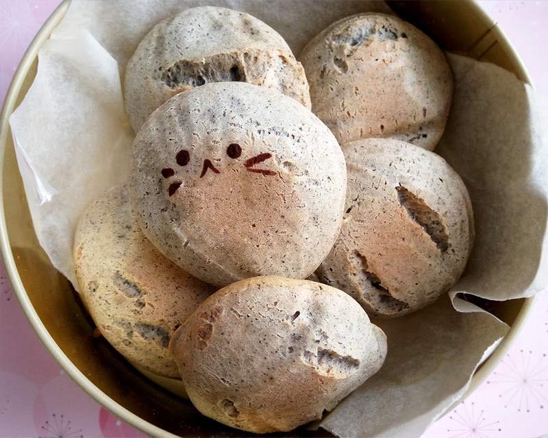 芝麻麻糬QQ麵包