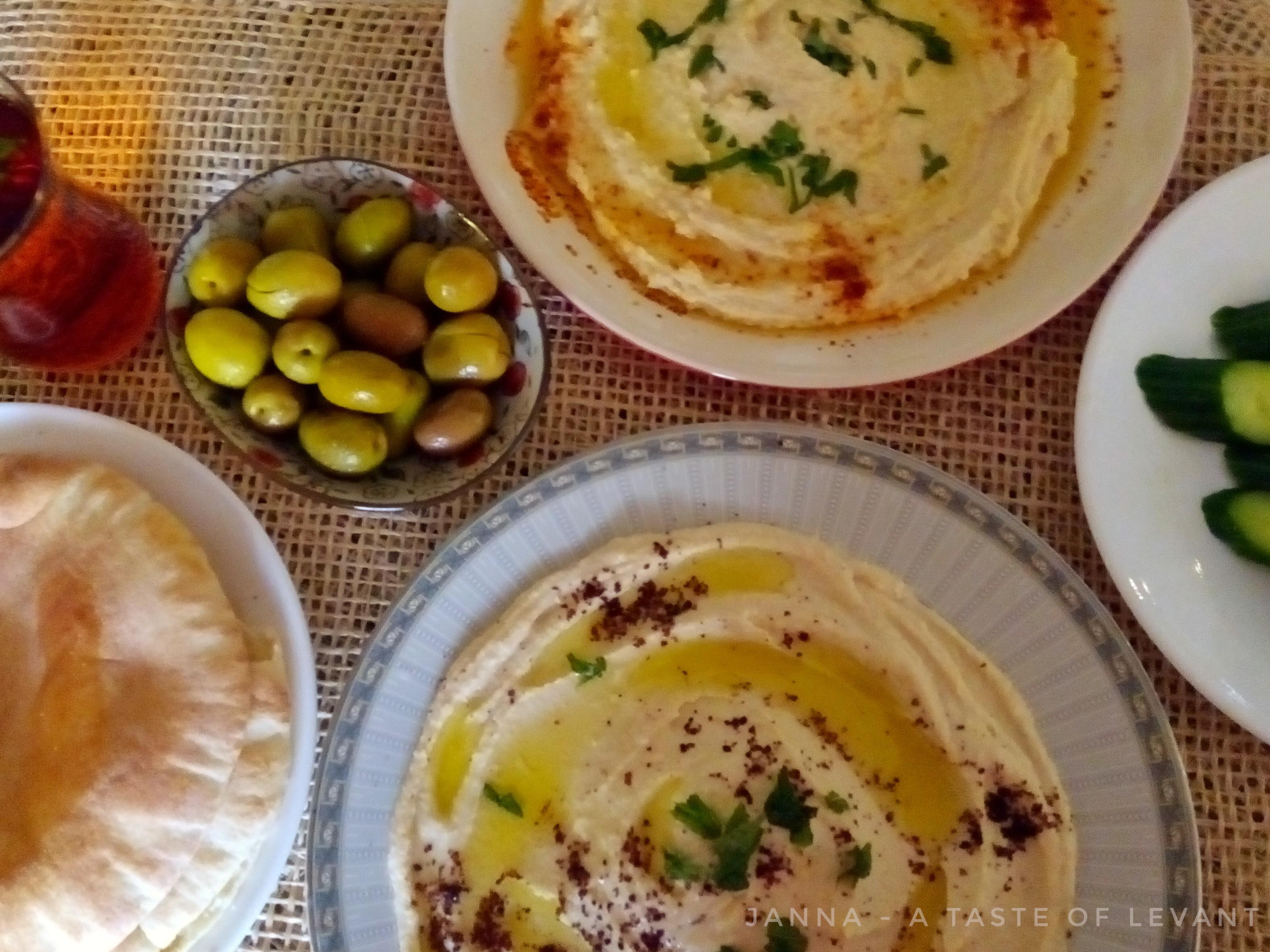基礎鷹嘴豆泥-中東Hummus