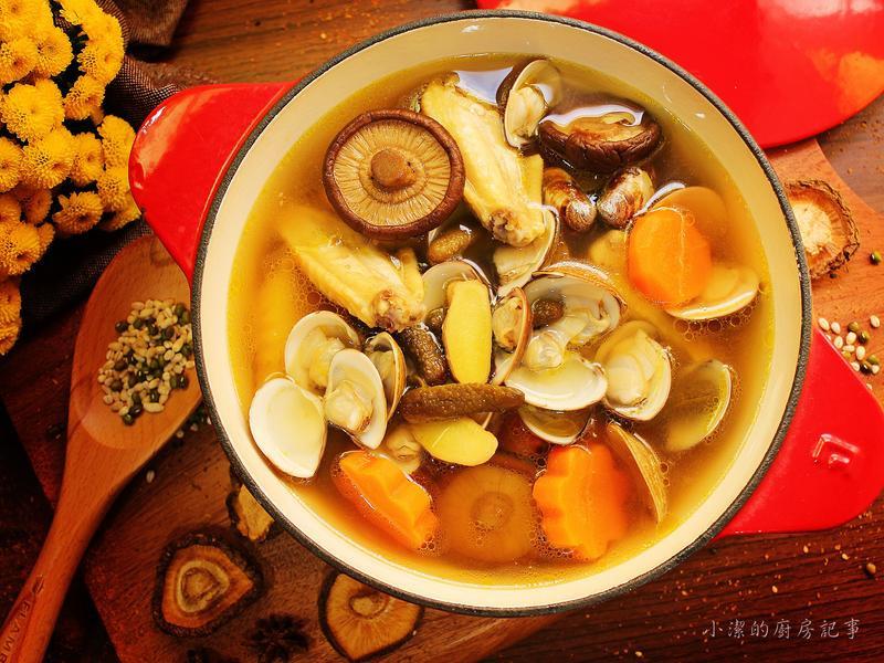 花瓜香菇雞湯