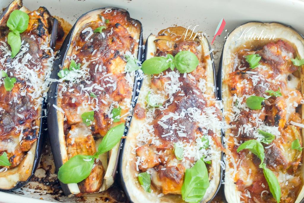 【簡易西式料理】香烤起司茄子