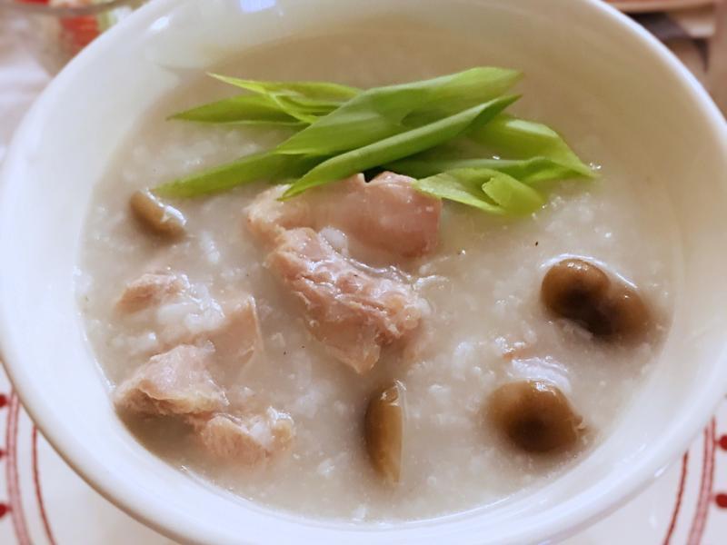 鹽麴雞肉粥
