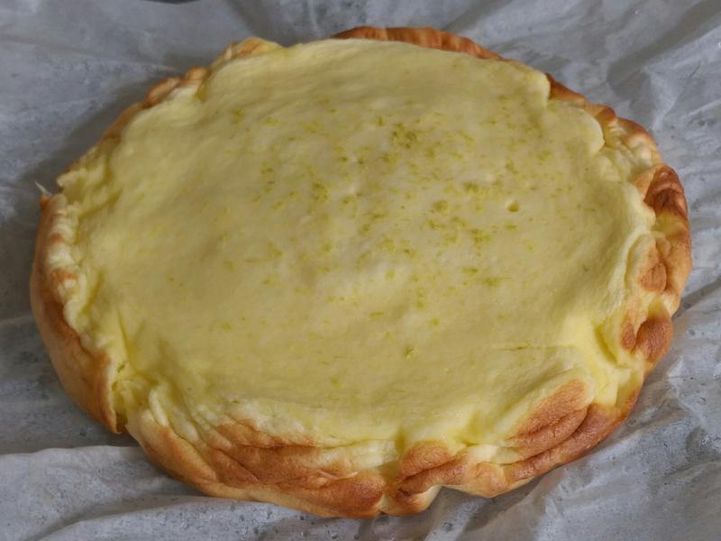 檸檬輕乳酪蛋糕(瓦斯爐)