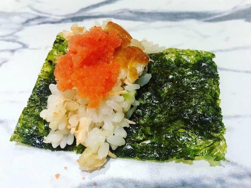 明太子鮭魚海苔飯捲