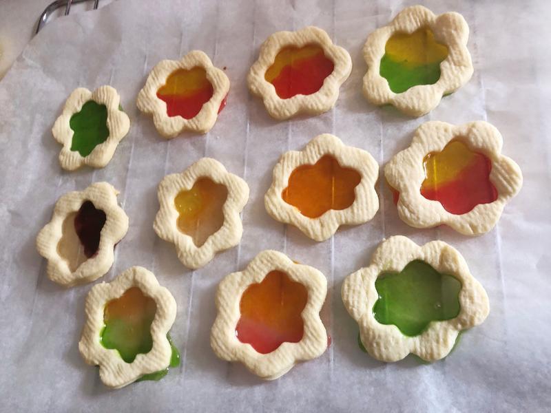 彩虹軟糖餅乾