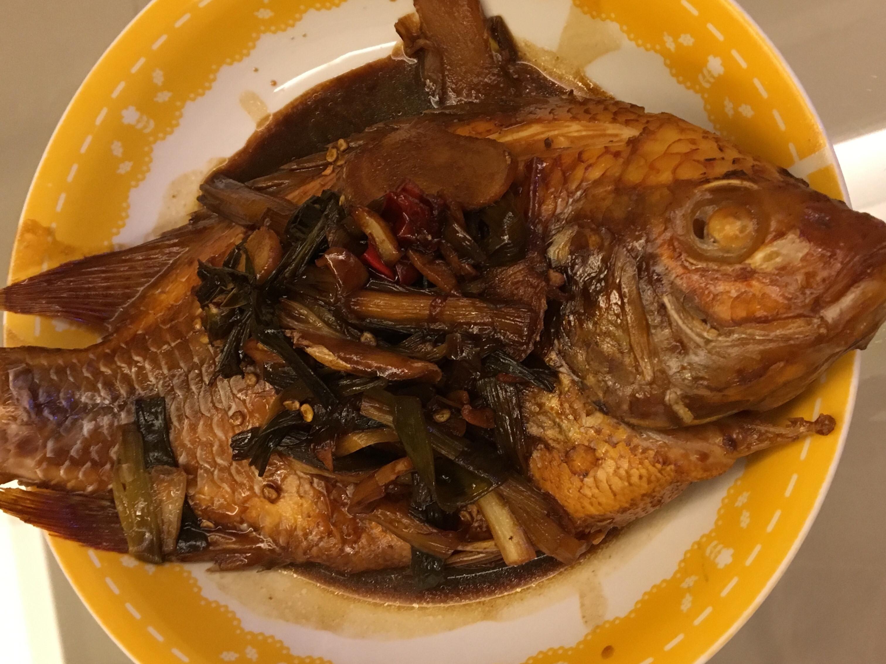 紅燒尼羅河紅魚