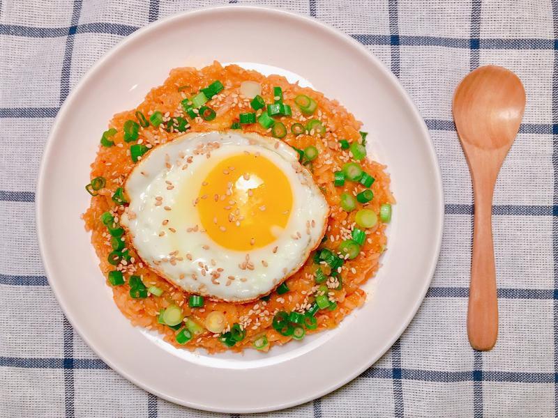 韓國媽媽的家常食譜~ 韓式泡菜炒飯