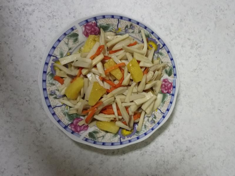 鳳梨杏鮑菇