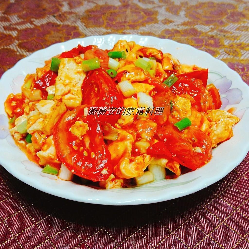 家常菜~蕃茄豆腐繪蛋