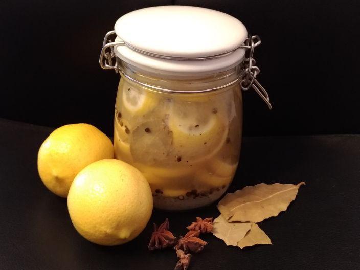 摩洛哥醃檸檬(肉.魚類調味好方便)