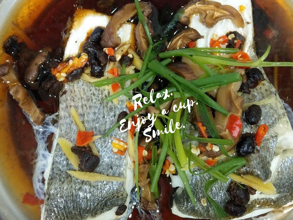 清蒸豆鼓魚-方便快速