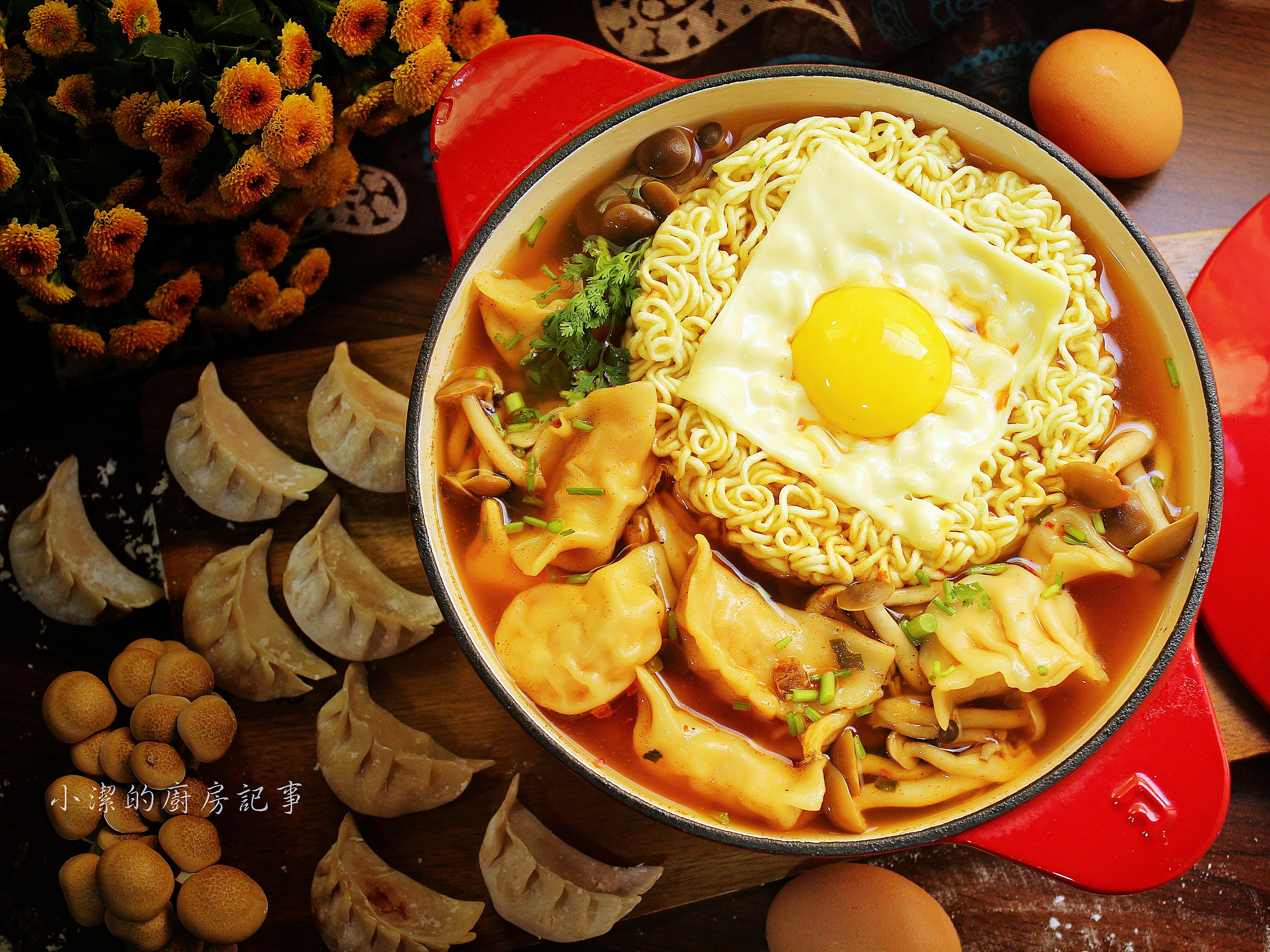 韓式泡菜雞肉水餃