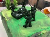 自己動手做生日蛋糕!迷彩趴