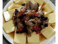 鼓汁豆腐蒸排骨