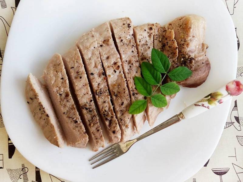 三椒香煎豬排