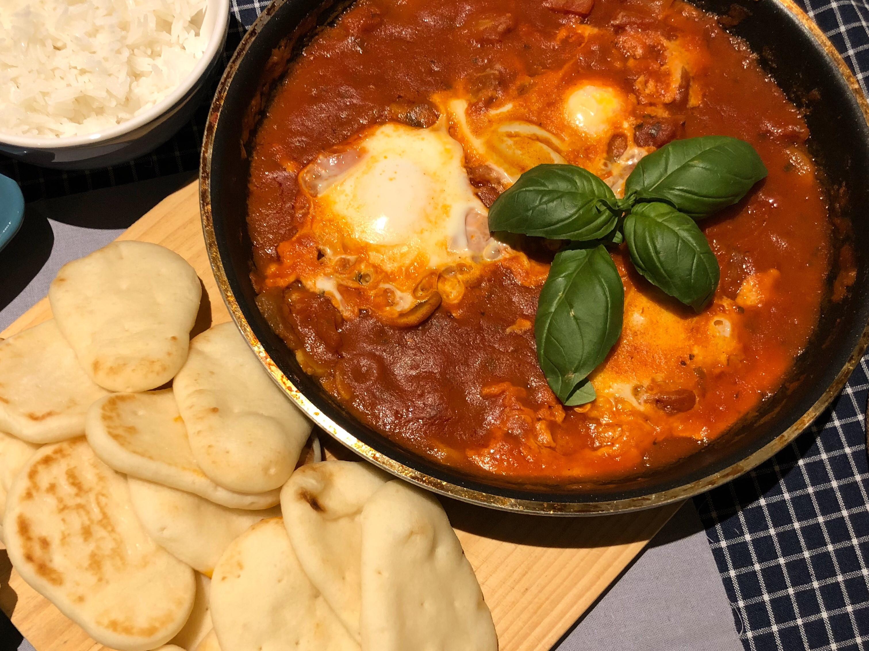 中東番茄香料烤蛋(無五辛)