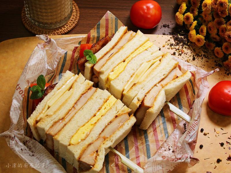 醬燒雞腿排三明治