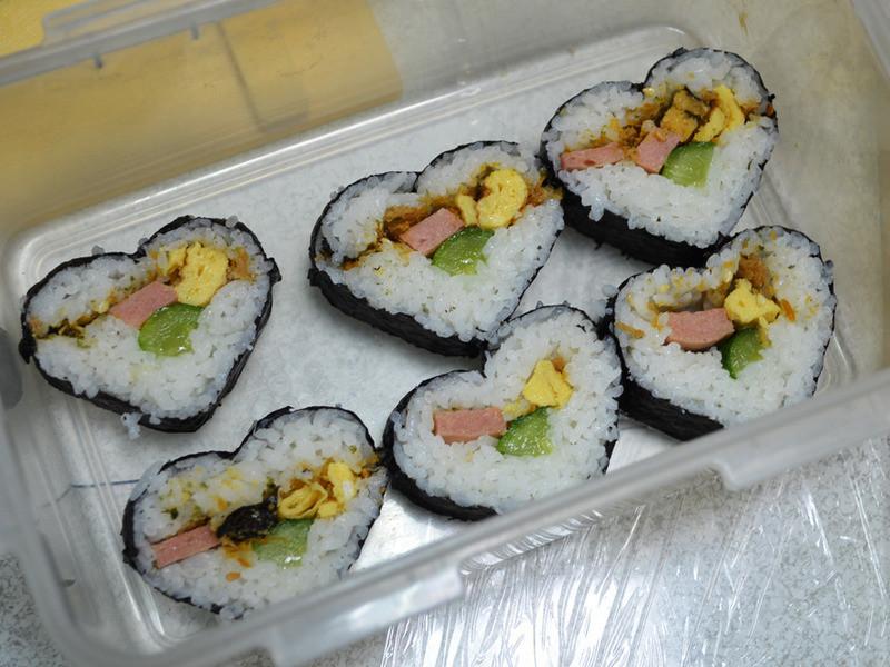 素食愛心壽司♥Oly*