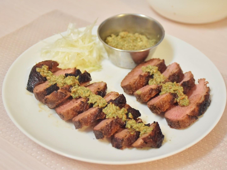 香烤鴨胸佐和風綠莎莎醬