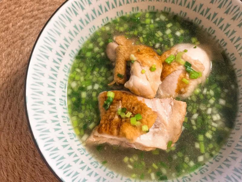 零廚藝第一次做菜就上手|詹姆士愛女蔥雞湯