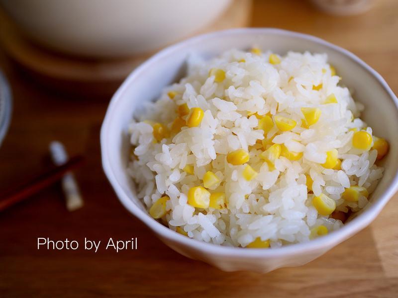 香甜玉米炊飯🌽