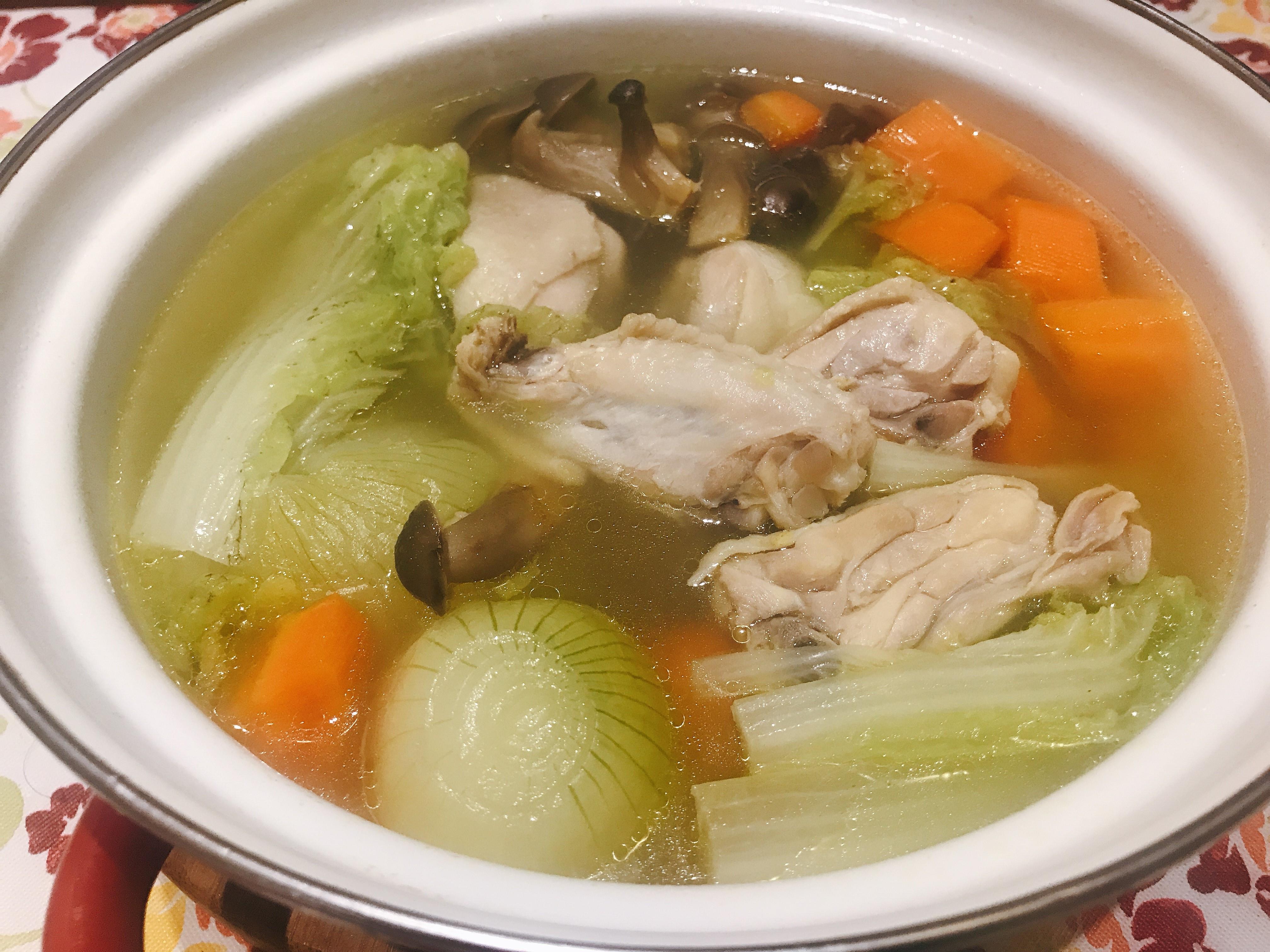田園洋蔥蔬菜雞湯