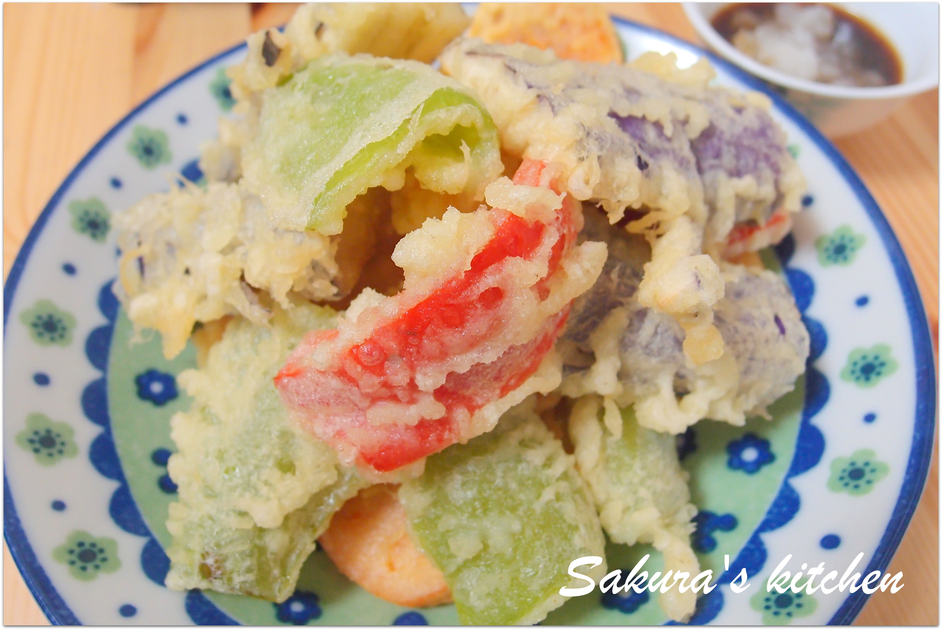 ♥我的手作料理♥ 日式蔬菜天婦羅 天ぷら