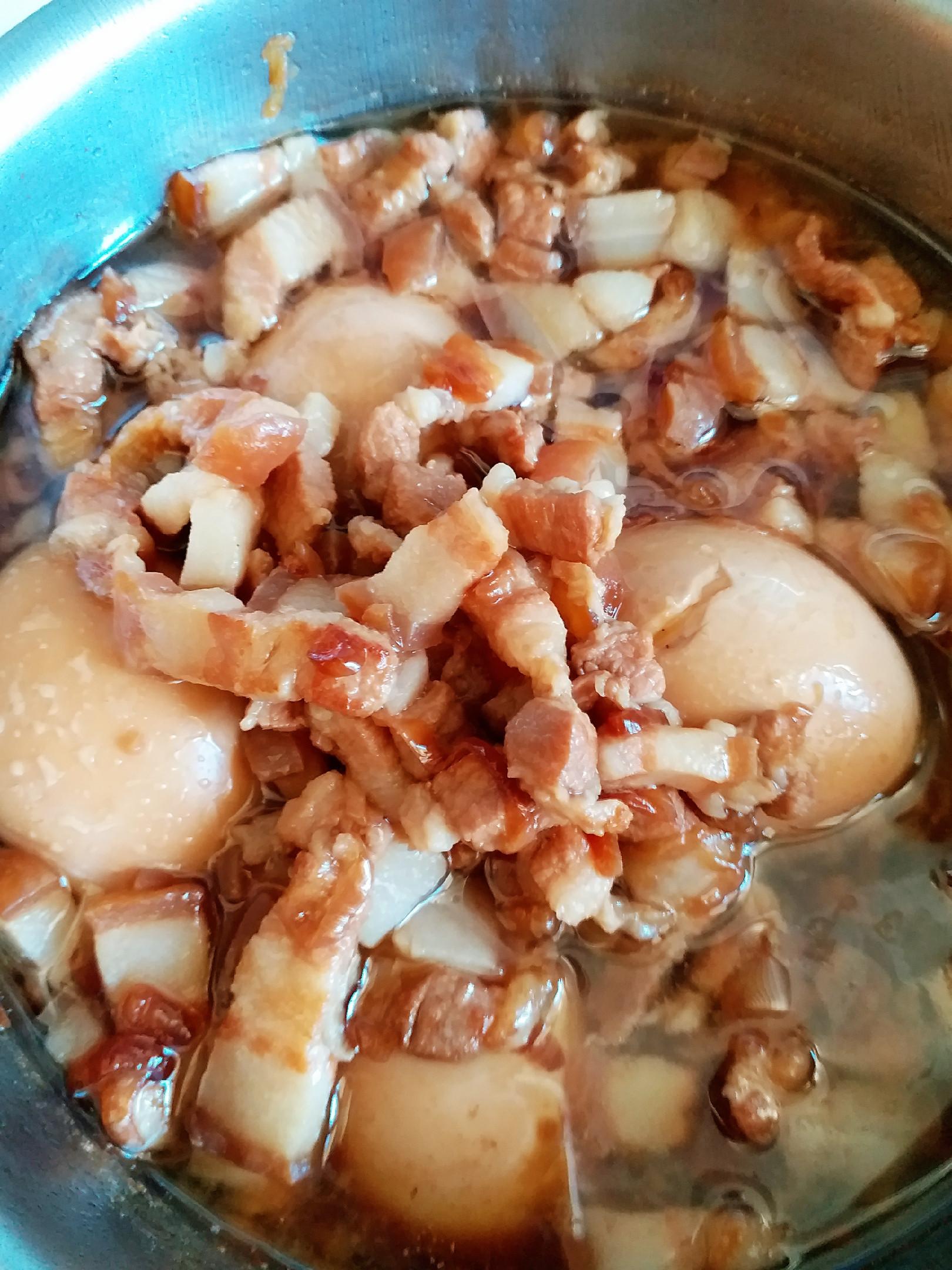 家庭電鍋料理~紅蔥肉燥