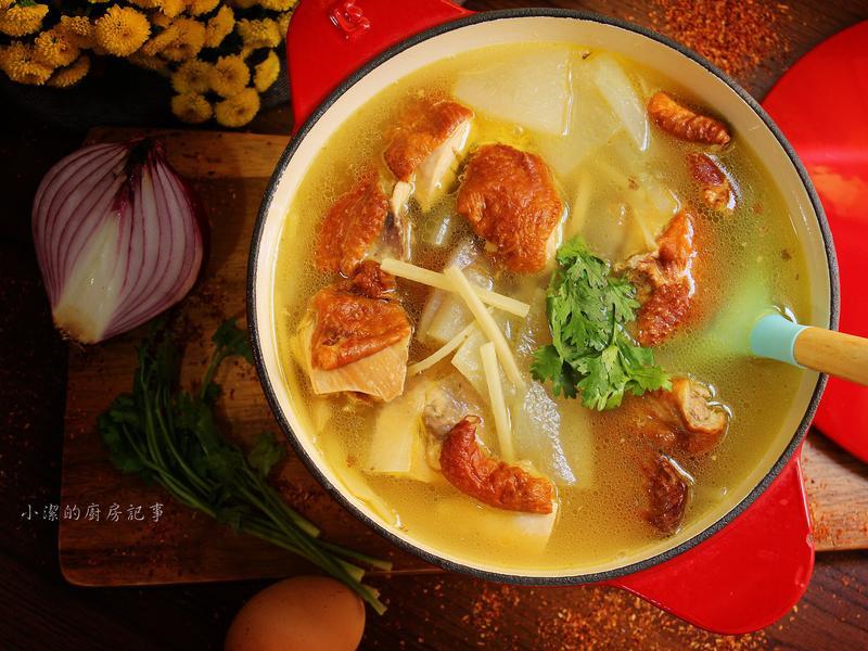 冬瓜夯雞湯