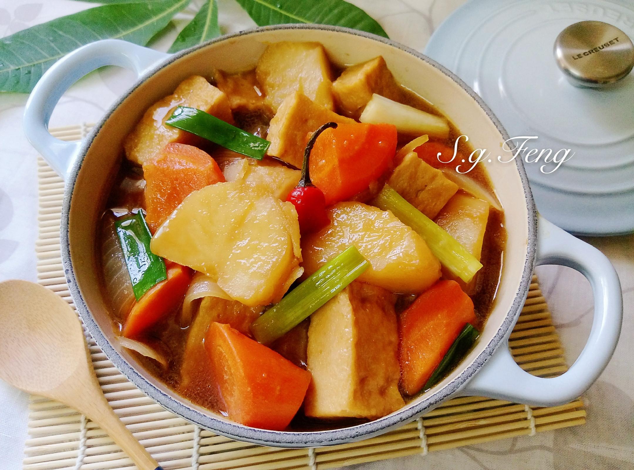 馬鈴薯燉百頁豆腐