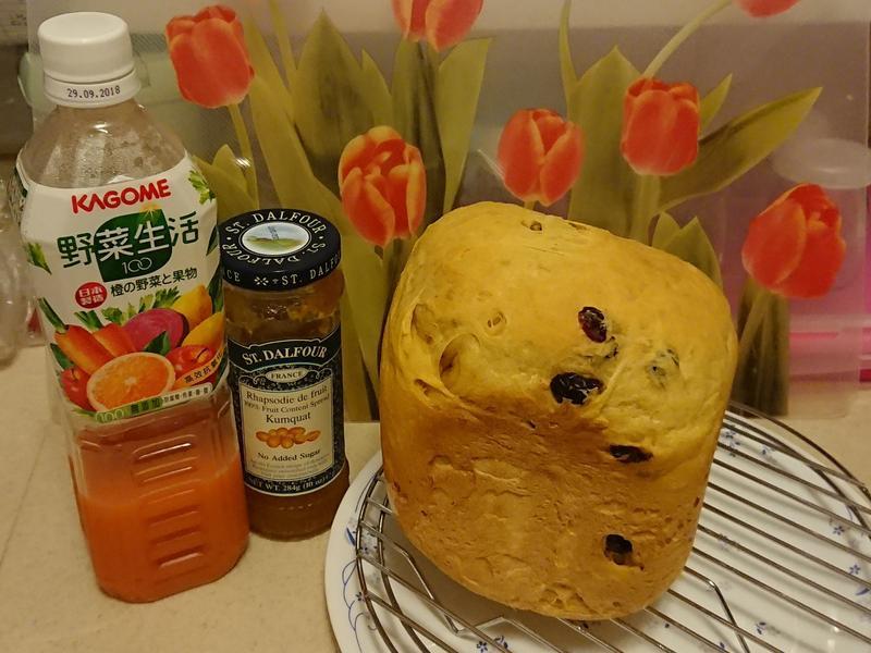 柑橘醬紅莓吐司~麵包機SD-PT1001